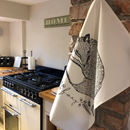 Foxy Tea Towel