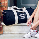 Strong Girls Club Gym Weekend Bag