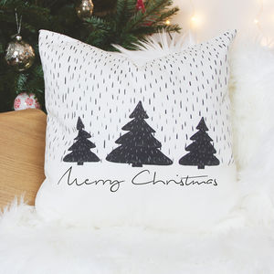 Merry Christmas Cushion - christmas home accessories