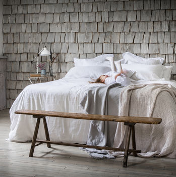 Classic White Bed Linen Set