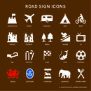 Favourite Places Metal Road Sign