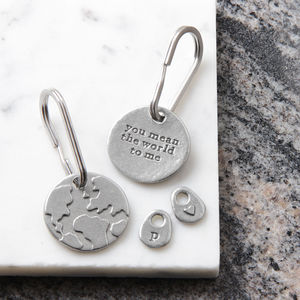 'You Mean The World To Me' Keyring - gifts for friends