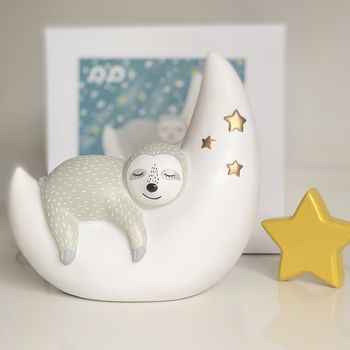 Sleepy Sloth Nursery Night Light By Little Baby Company