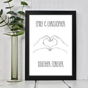 Together Forever Couples Print - view all new