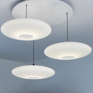 Ethel Inverse Three Drop Suspension - ceiling lights