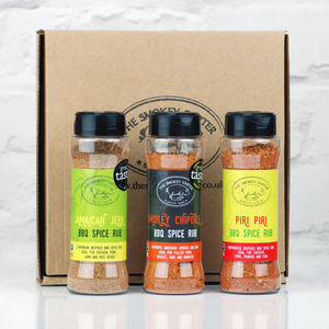 Barbecue Favourites Rub And Seasoning Set