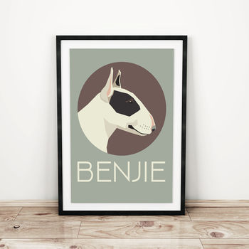 Personalised Dog Prints Various Different Breeds