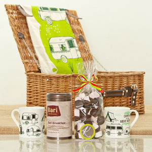 Camping Tea Gift Hamper - picnic hampers & baskets