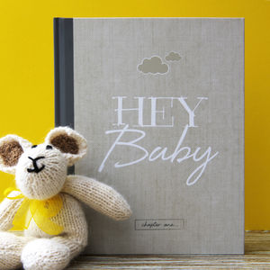 Baby Journal And Record Book - new baby gifts
