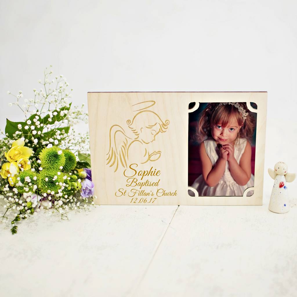 Personalised First Holy Communion Photo Frame By Natural Gift Store