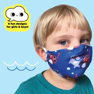 Children's Cloth Face Masks For Boys And Girls
