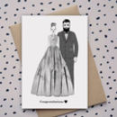 Congrats…Wedding Card. Engagement Card