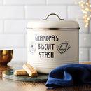 Personalised Biscuit Barrel