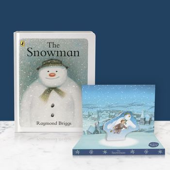 The Snowman Music Box Card And Board Book Gift Set