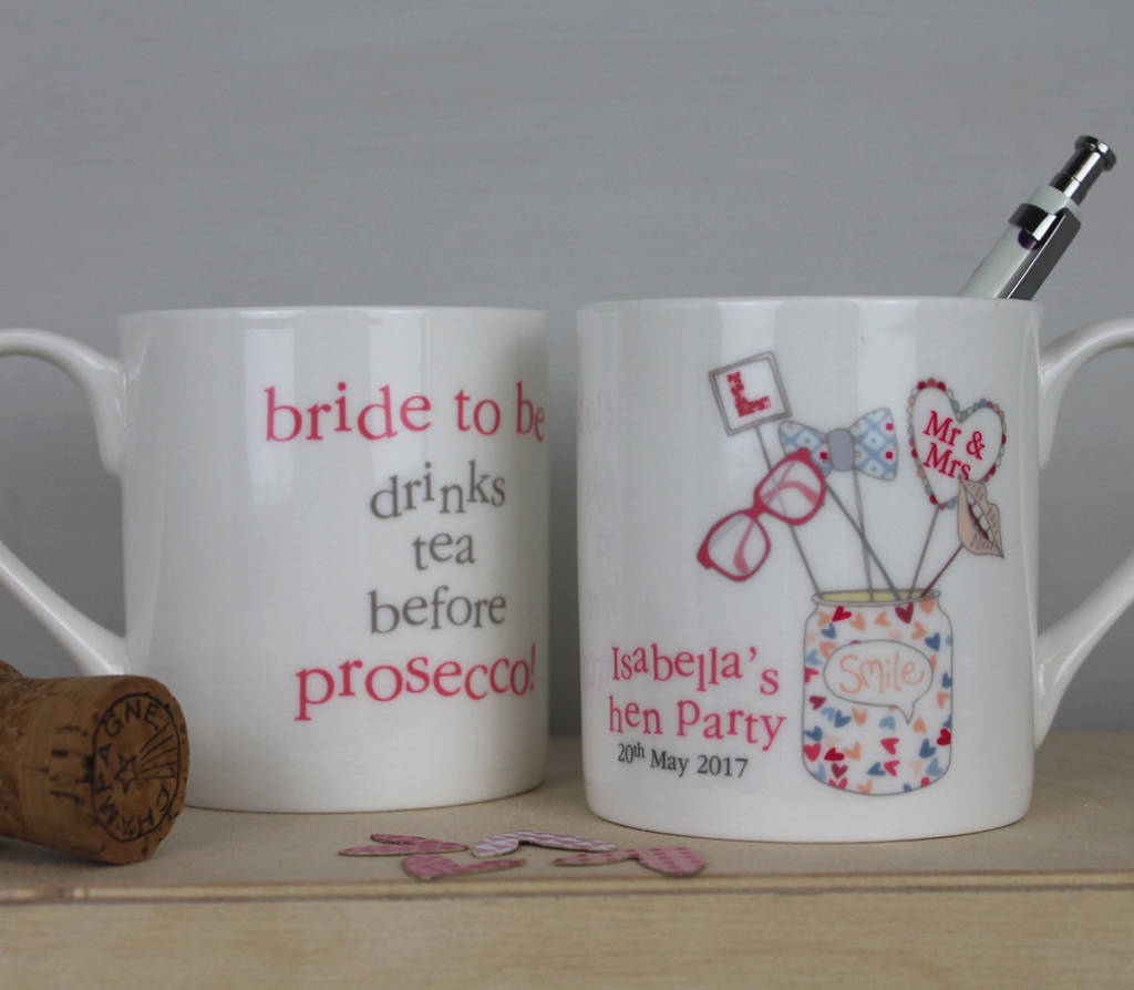 Personalised Hen Party Gifts