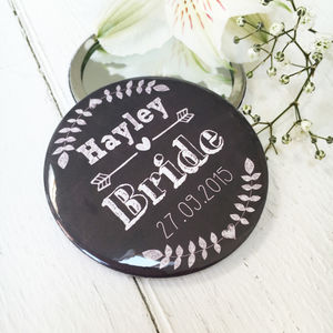 Chalkboard Hen Party Wedding Mirrors - hen party styling