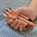 Personalised Box Of Jumbo Watercolour Pencils