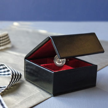 Leather And Suede Travel Jewellery And Cufflink Box