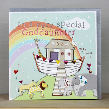 Special Goddaughter Card