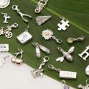 Selection Of Silver Charms