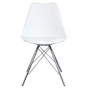 Copenhagen Chair With Chrome Legs - new in