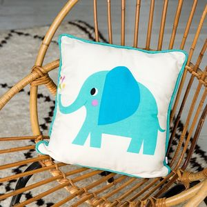 Elvis The Elephant Cushio - children's cushions