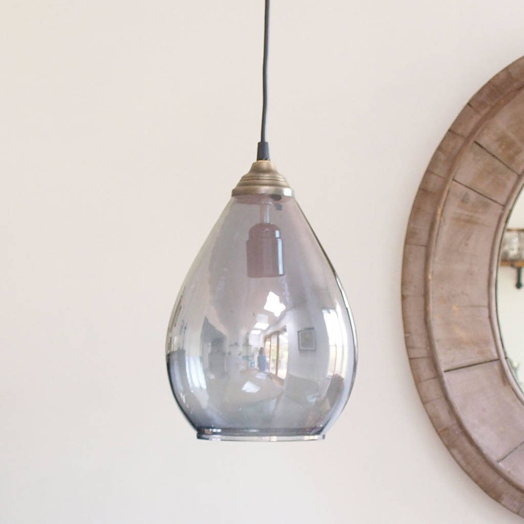 Simple Glass Pendant Light By Idyll Home