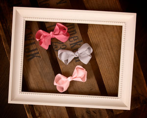 Medium Knot Hair Bow - hair accessories