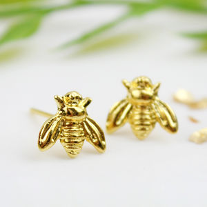 Bee Stud Earrings - baby & child sale