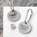 'Love You Dad' and 'Love You Daddy' Keyrings