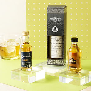 Explorer's Case Of Three Scotch Whiskies - gifts for him