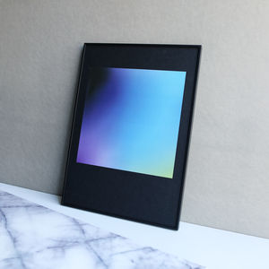 Limited Edition Purple And Blue Gradient Square Print - new in prints & art