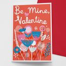 'Be Mine Valentine' Card