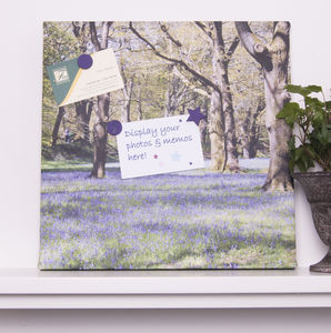 Personalised Photo Magnetic Noticeboard - noticeboards