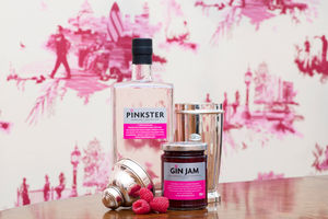 Gin Jam Produced With Inebriated Raspberries