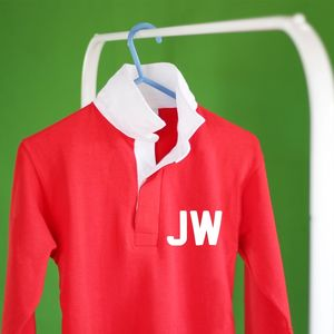 Child's Personalised Rugby Top