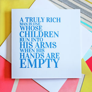 Father's Day Greeting Card - what's new