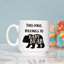 Baby Bear Mug, Children Toddler Cute Animal Design