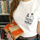Votes For Women Charity T Shirt