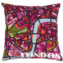 London Bright City Map Tapestry Kit