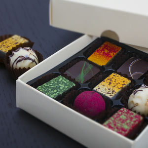 Artisan Chocolates Nine Piece Collection - gifts for her