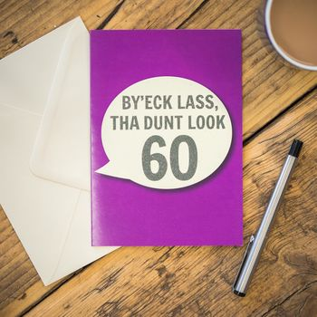 By'eck Lass, Tha Dunt Look 60 Card