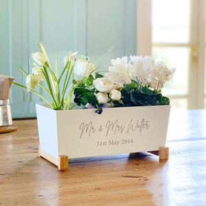 Personalised Anniversary Planter