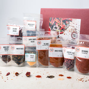 Rare Chilli Collection - gifts for foodies
