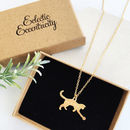 Personalised Kitten Necklace
