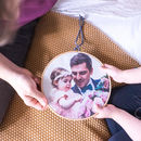 Personalised Daddy And Me Photo Hoop