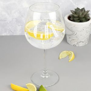 Personalised Gin Goblet - drink & barware