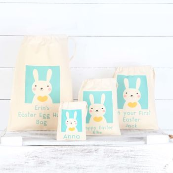 Personalised Bunny Rabbit Cotton Bags
