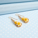 Daffodil Dropper Earrings