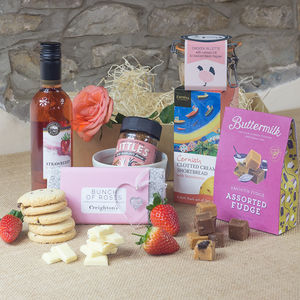 Mother's Day Wine And Sweet Treat Hamper - gifts for grandmothers